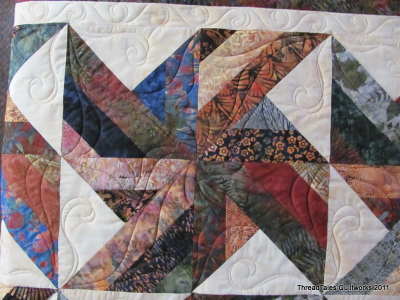 From Cozy Quilt Designs NEW TRADEWINDS QUILT QUILTING PATTERN