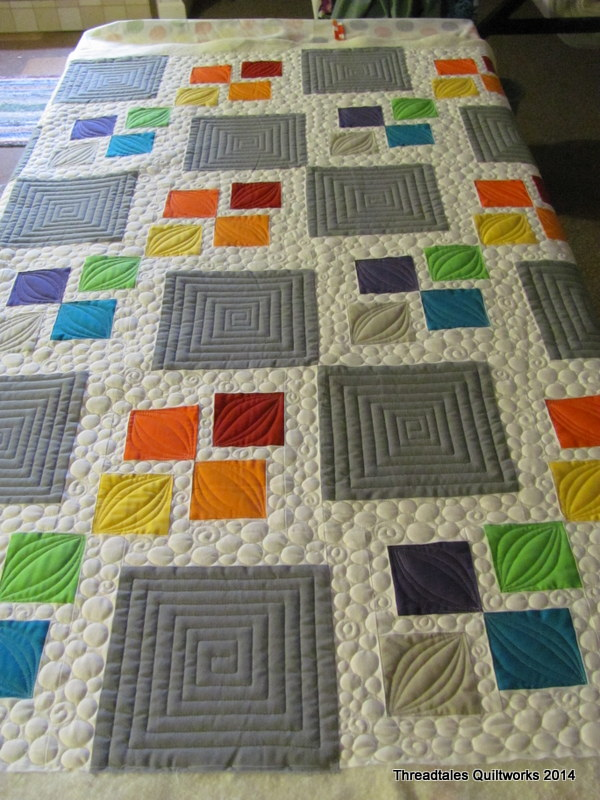 Machine quilting patterns for quilting for Modern house quilts